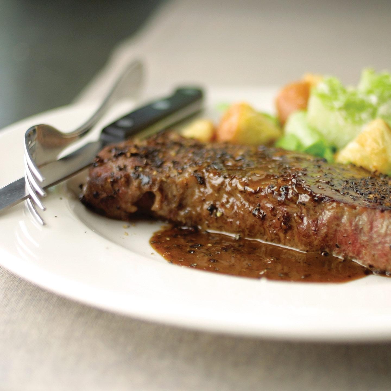 America S Test Kitchen Steak Au Poivre