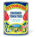 Tuttorosso Crushed Tomatoes in Thick Puree with Basil