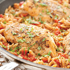 Skillet Chicken And Rice America S Test Kitchen
