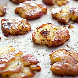 Roasted Smashed Potatoes America S Test Kitchen