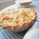 Apple Pie with Crystallized Ginger