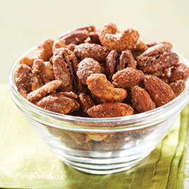 Spiced Pecans With Rum Glaze Recipes Test Kitchen Free