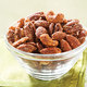 Warm-Spiced Pecans with Rum Glaze