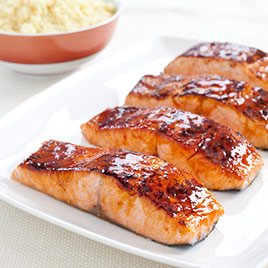 glazed salmon america s test kitchen