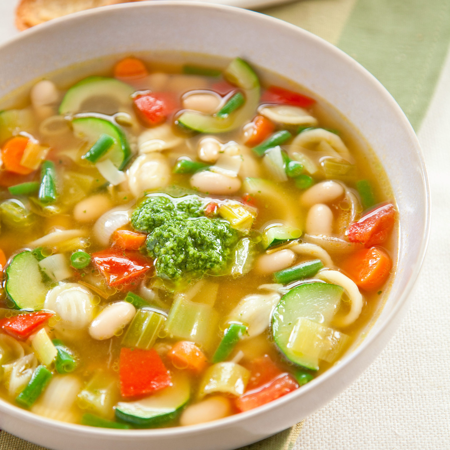 Vegetable Soup America S Test Kitchen