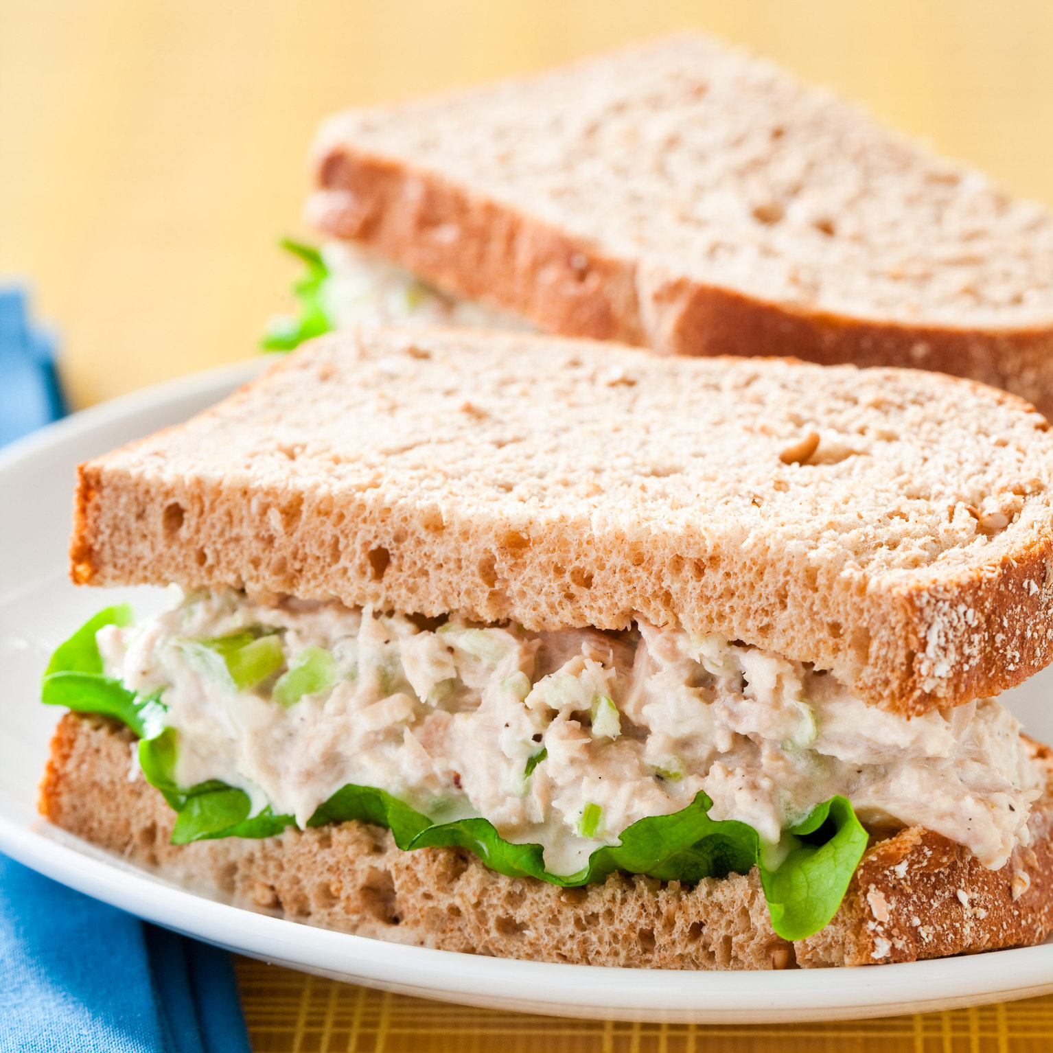 Curried Tuna Salad with Apples and Currants