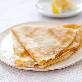 Crepes with Chocolate and Orange