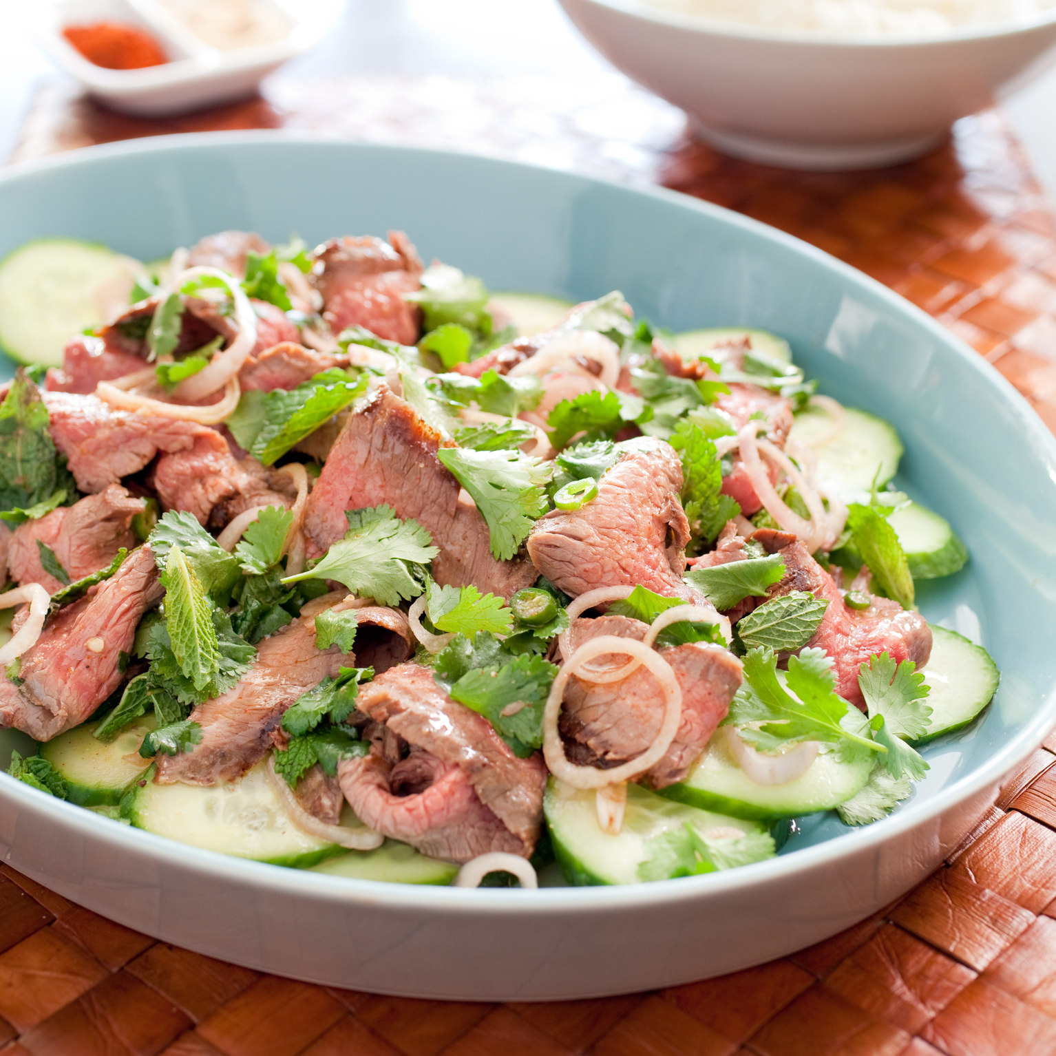 Thai Grilled-Beef Salad