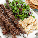 Greek Beef Kebabs