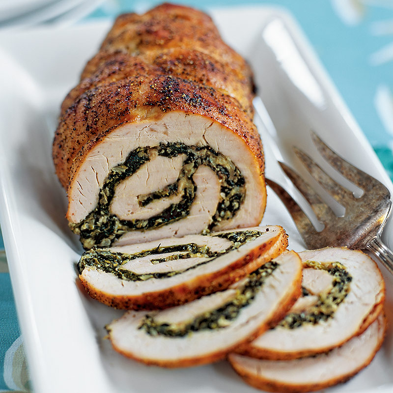 how to cook turkey breast roll uk