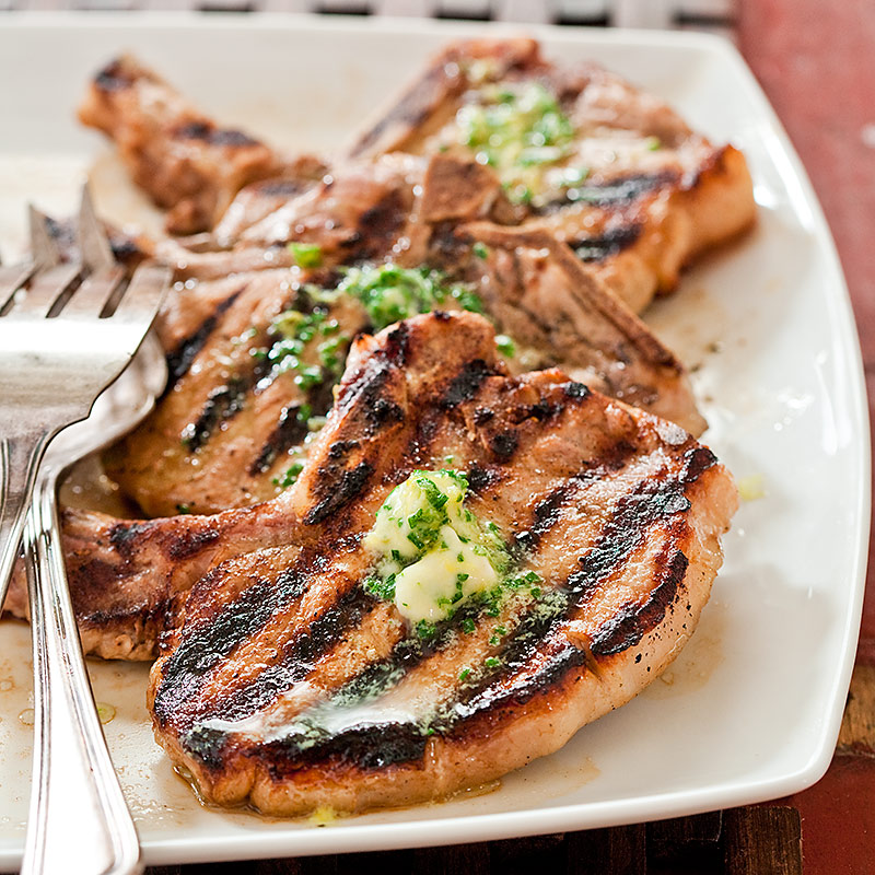 Grilled Thin Cut Pork Chops Cook S Country