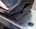 5. HEAT GRILL GRATE