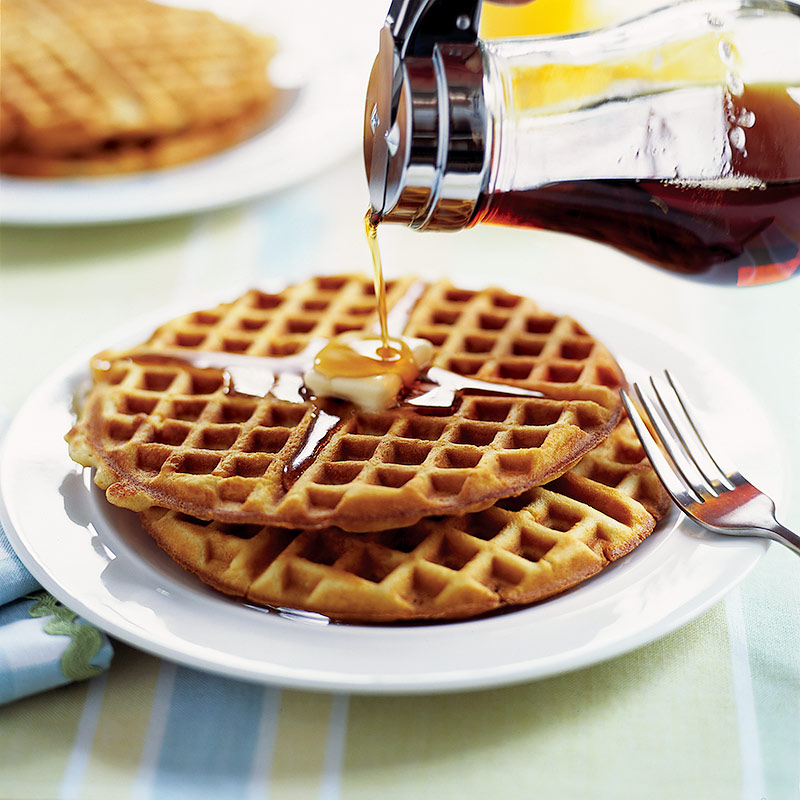 Light and Crispy Waffles Recipe - Cook's Country