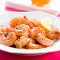 Beer-Steamed Shrimp with Garlic Butter