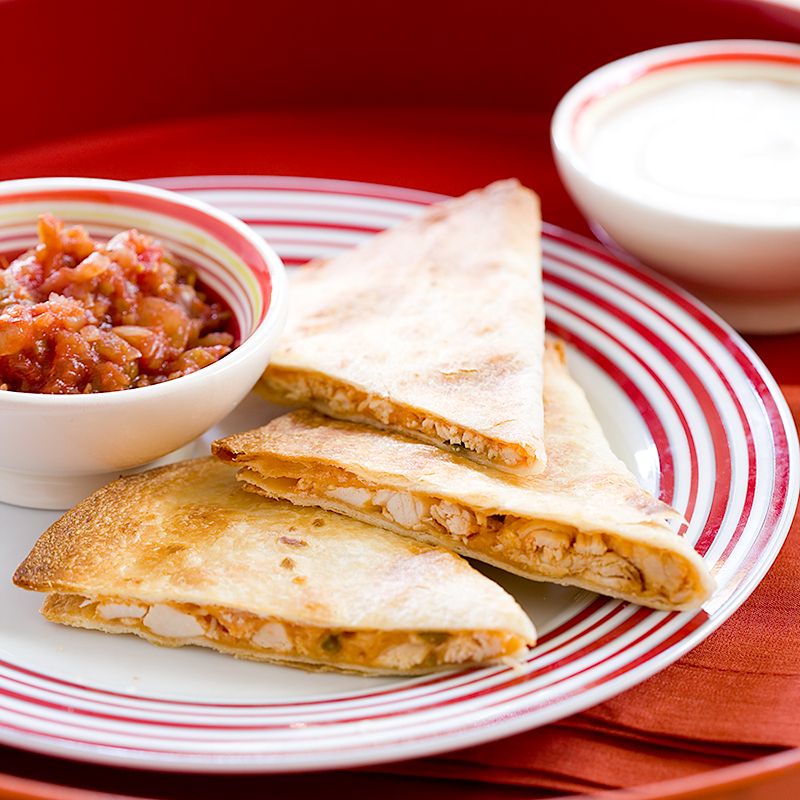 Chicken and Cheese Quesadillas | Cook's Country