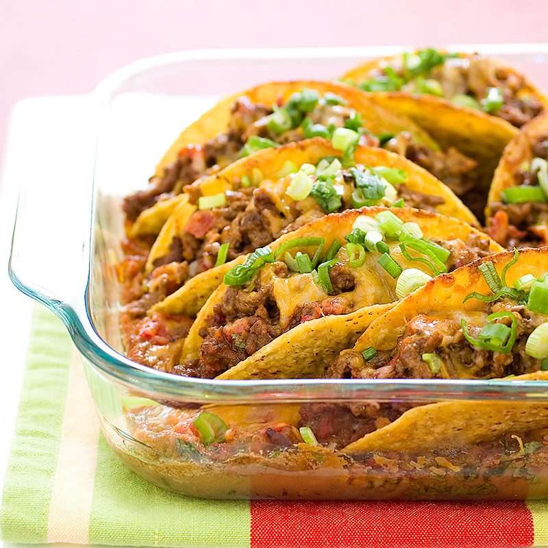 America Test Kitchen Beef Taco Bake
