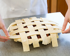 3. WEAVE THE REMAINING LATTICE STRIPS