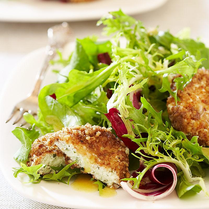 America S Test Kitchen Goat Cheese Salad