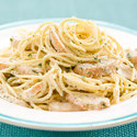 Creamy Pasta with Lemon-Pepper Chicken