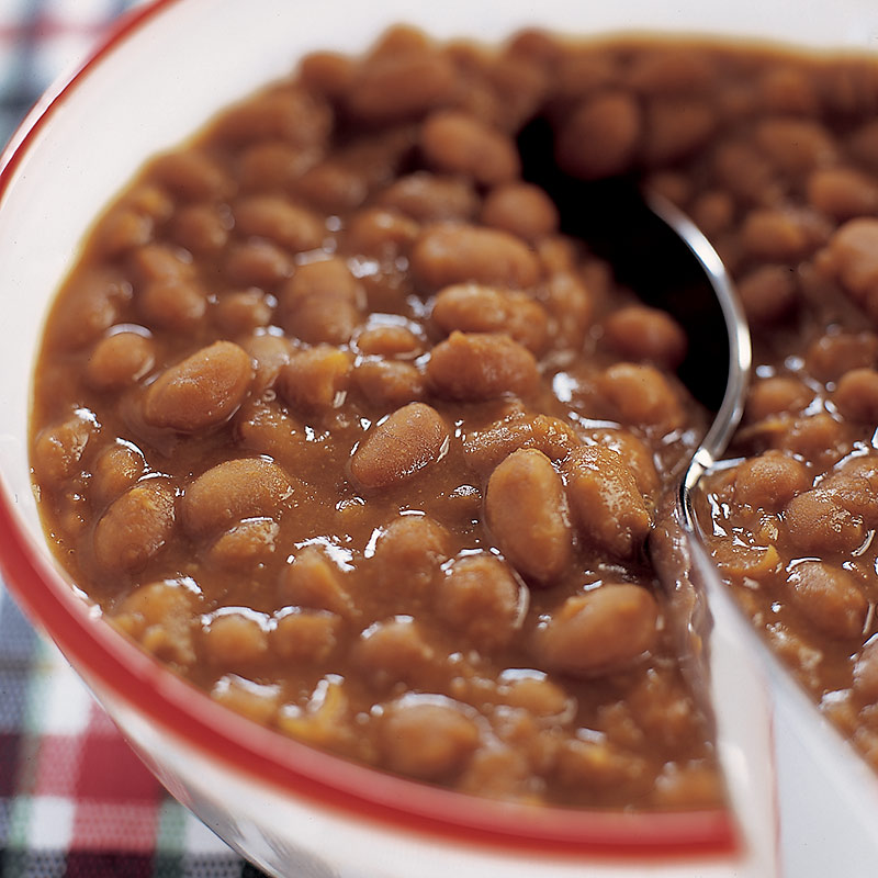 Slow Cooked Boston Baked Beans Recipe — Dishmaps