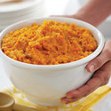 Herb Mashed Sweet Potatoes with Caramelized Onion