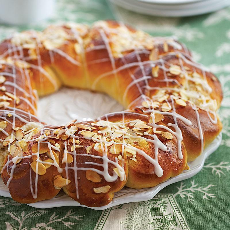 Round Almond Cake Recipe
