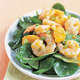 Asian Spinach and Shrimp Salad with Sesame Dressing