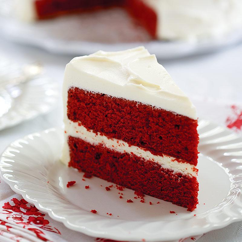 Bright Red Velvet Cake Recipe
