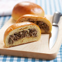 Runsas (Beef and Cabbage Buns with Cheese)