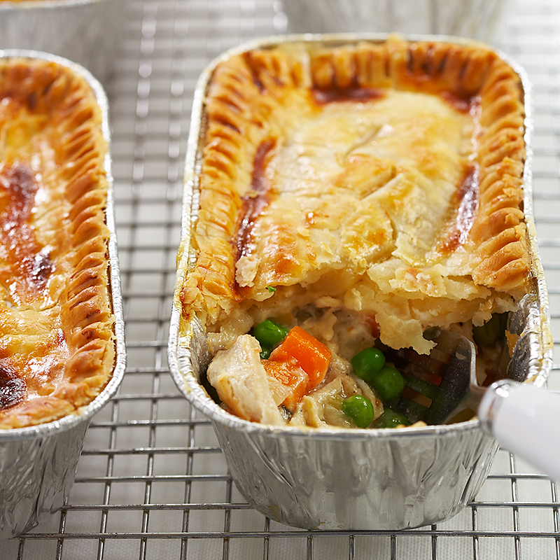 Freezer Chicken Pot Pies Recipe - Cook's Country