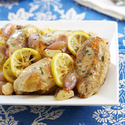 Braised Lemon Chicken Breasts