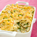Baked Four-Cheese Pasta