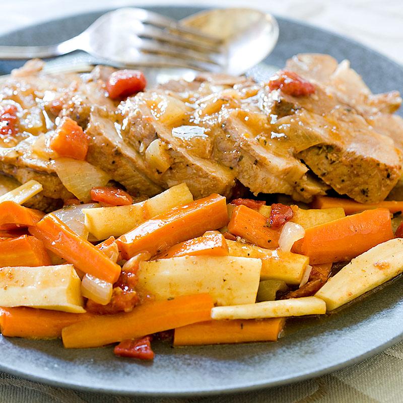 Slow-Cooker Pork Pot Roast