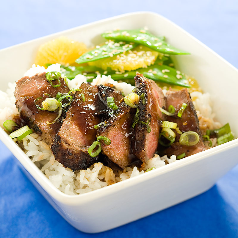 Steak With Teriyaki Sauce Recipe — Dishmaps