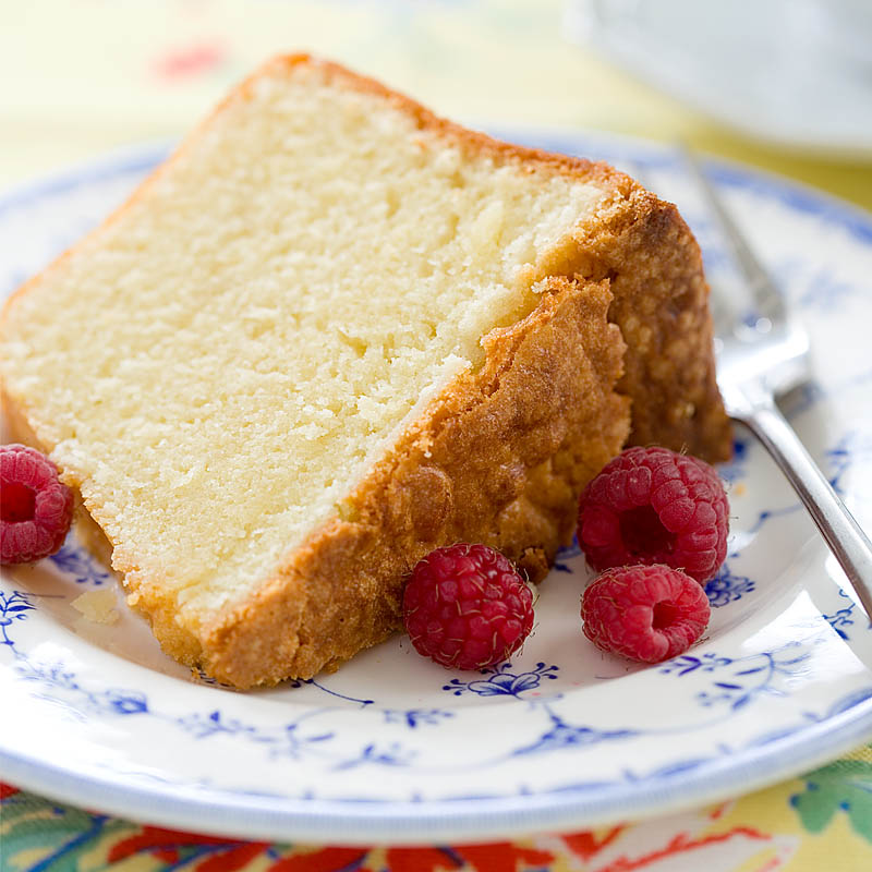 Cold Oven Pound Cake With Cream Cheese