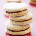 Raspberry Almond Cookies