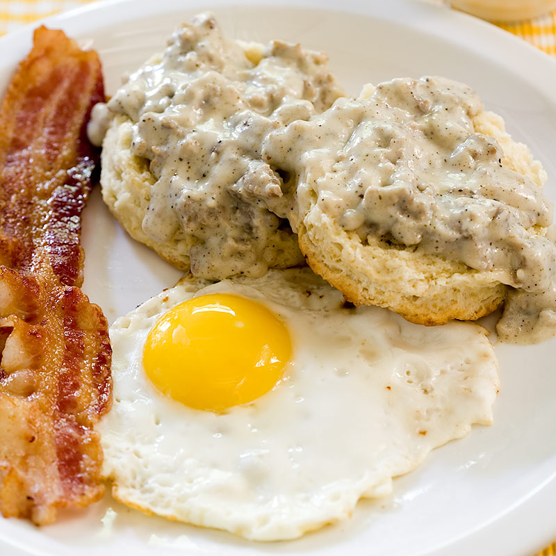 America S Test Kitchen Biscuits And Gravy
