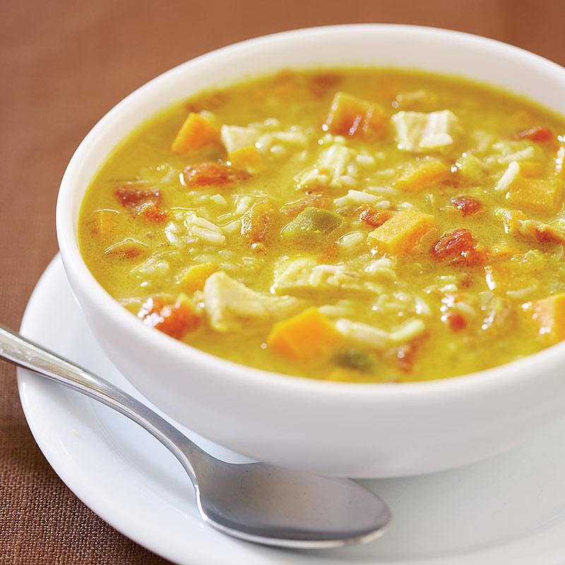 Curried Turkey-Peanut Soup