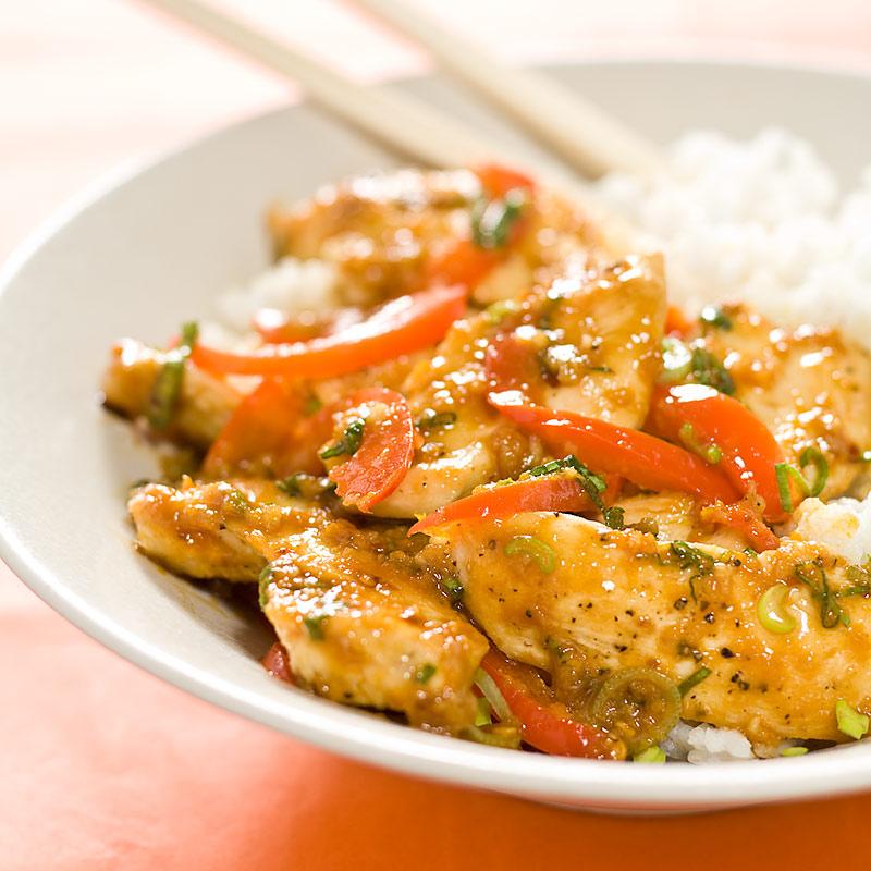Sichuan Orange Chicken