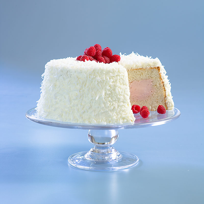 Raspberry coconut cloud cake cooks country forumfinder Images