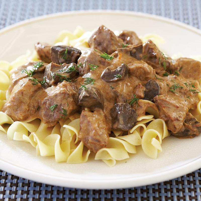 Slow-Cooker Beef Stroganoff Recipe - Cook's Country