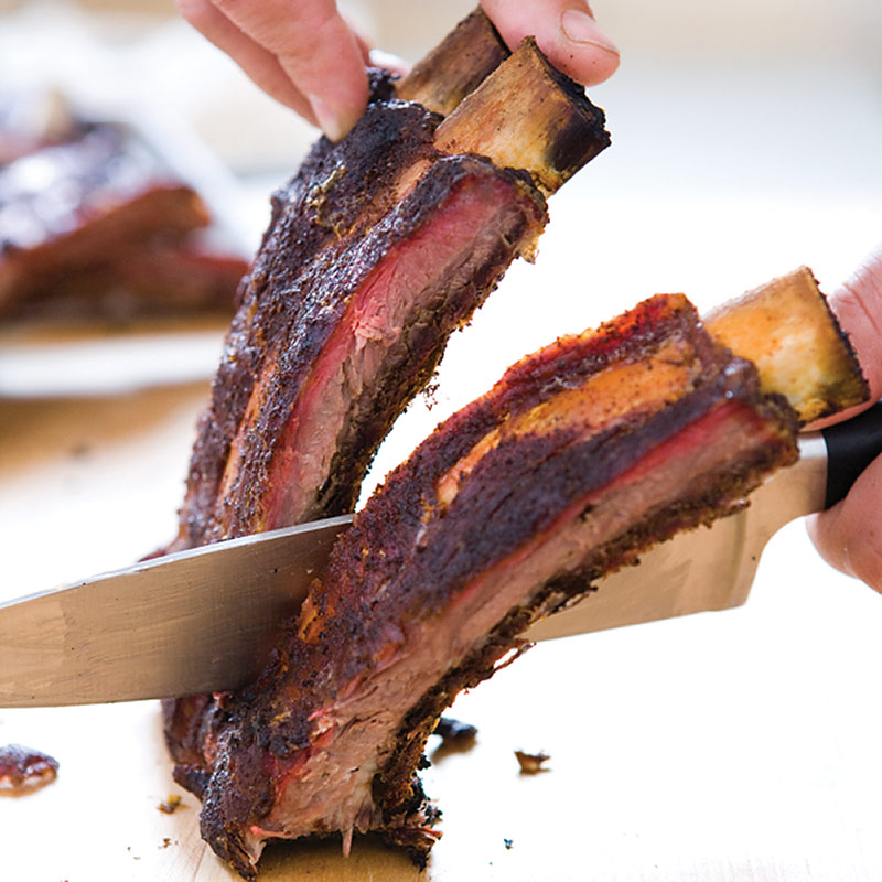 how to cook beef spare ribs on the grill