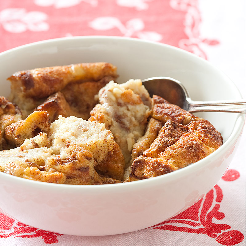 Reduced-Fat Bread Pudding | Cook's Country