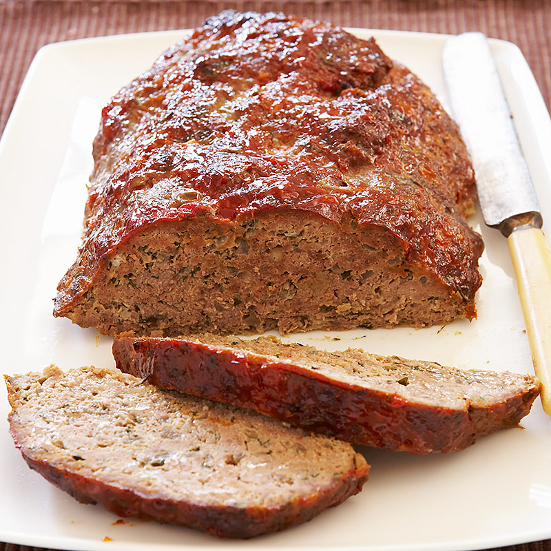 Glazed Meatloaf Recipe - Cook's Country