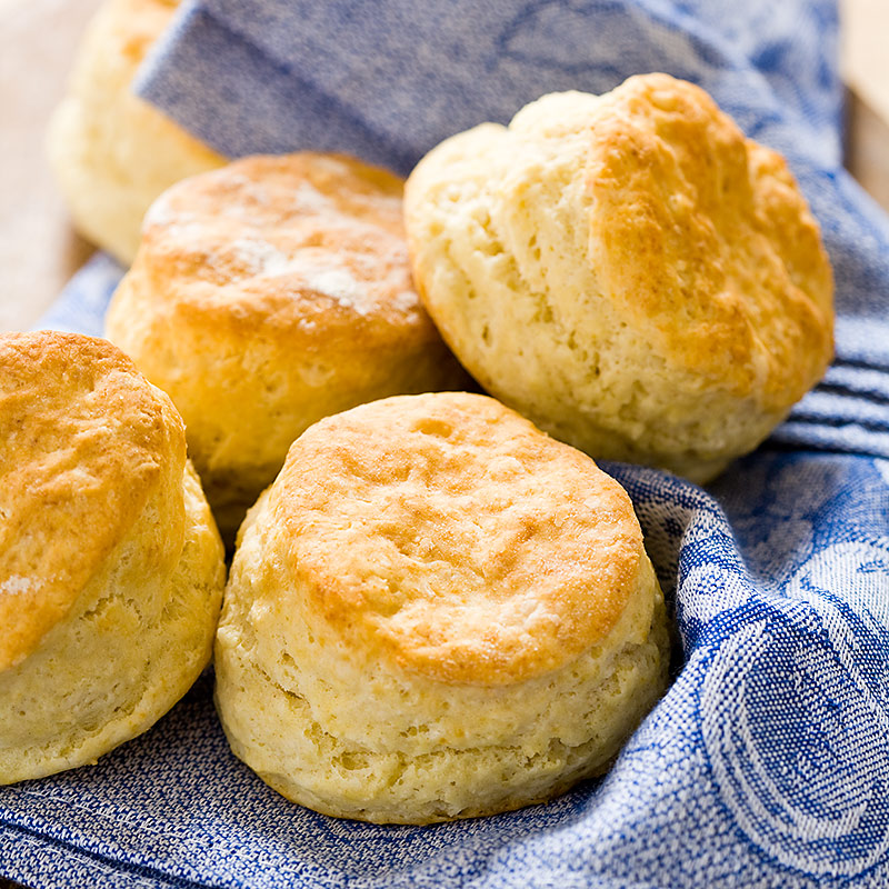 Reduced-Fat Buttermilk Biscuits | Cook's Country