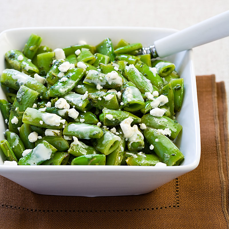 Minty Sugar Snap Pea Salad | Cook's Country
