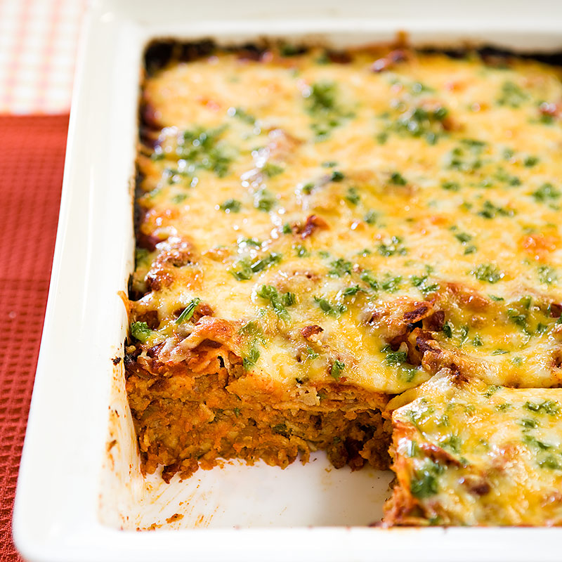Beef Enchilada Casserole | Cook's Country