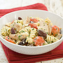 Pasta with Chicken, Tomatoes, and Feta