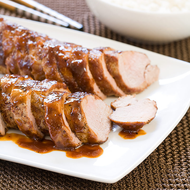 Chinese Glazed Pork Tenderloin