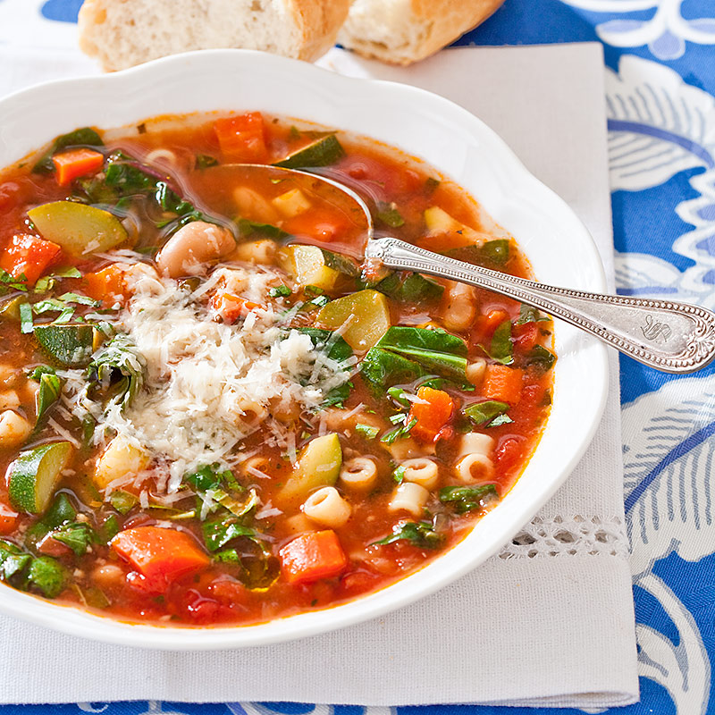 Minestrone Recipes: Slow-Cooker Minestrone